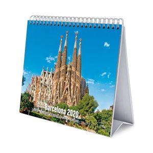 Calendario de escritorio deluxe 2020 barcelona