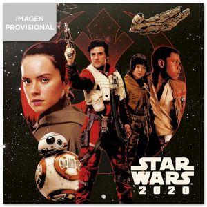 Calendario 2020 30 x 30 star wars episode ix