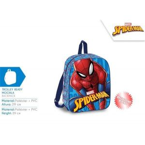 Mochila 29 cm spiderman