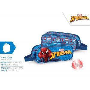 Portatodo doble spiderman