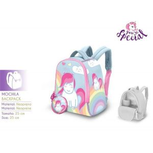 Mochila neopreno 25cm little unicorn