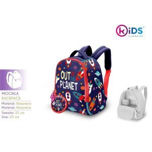 Mochila neopreno 25cm out planet