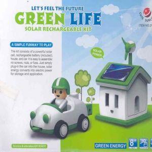 GREEN LIFE CASITA Y CHOCHE SOLAR