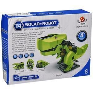 ROBOT SOLAR DINO TRANSFORMING 4 EN 1 (C9928)