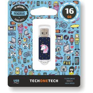 PENDRIVE 16GB USB 2.0 UNICORNIO DREAM