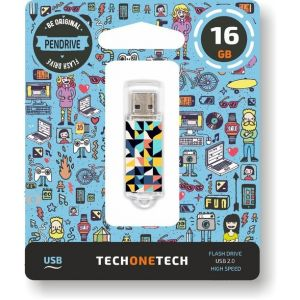 PENDRIVE 16GB USB 2.0 KALEYDOS