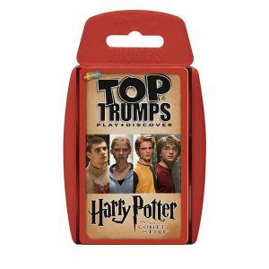 Juego de cartas top trumps harry potter y el caliz de fuego