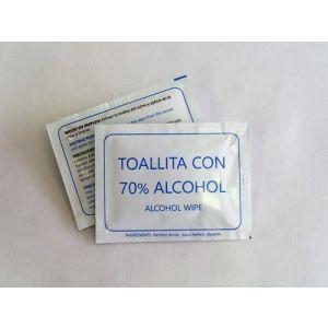 C/500 SOBRES TOALLITAS GEL HIDROALCOHOLICO