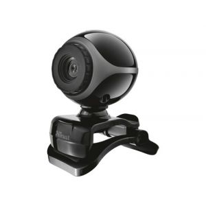 Webcam trust exis 640x480p color negro