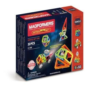 MAGFORMERS VEHICLE SPACE WOW SET 22 PIEZAS (707009)