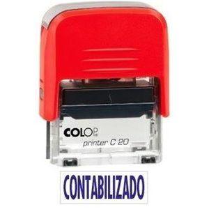 SELLO PRINTER 20 TEXTO CONTABILIZADO