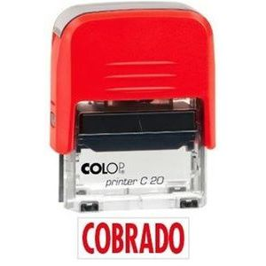 SELLO PRINTER 20 TEXTO COBRADO