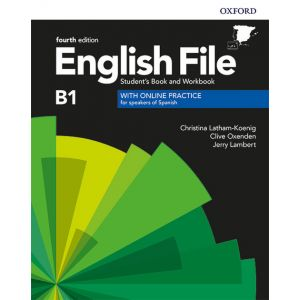 ENGLISH FILE INTER PACK KEY 4ED B1