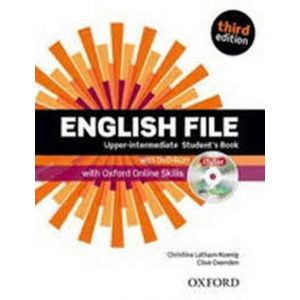 ENGLISH FILE UPPER-INTER PACK KEY 3ED