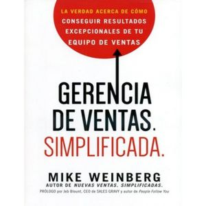 GERENCIA DE VENTAS SIMPLIFICADA