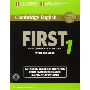 CAMBRIDGE ENGLISH FIRST 1 FOR REVISED EXAM FROM 2015 STUDENT´S BOOK PACK (STUDEN
