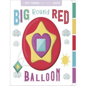 BIG ROUND RED BALLOON - ING