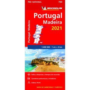 MAPA NATIONAL PORTUGAL MADEIRA 2021