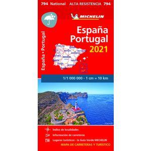 MAPA NATIONAL ESPAÑA PORT ALTA RESIST 2021