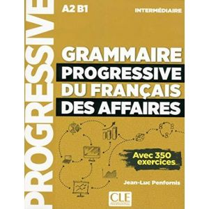 GRAMMAIRE PROGRESSIVE DU FRANCAIS DES AFFAIRES: LIVRE + CD + LIVRE-WEB A2/B1 N