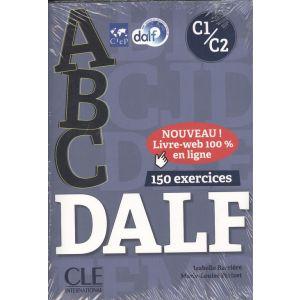 ABC DALF C1-C2 + CD AUDIO + LIVRE WEB NC