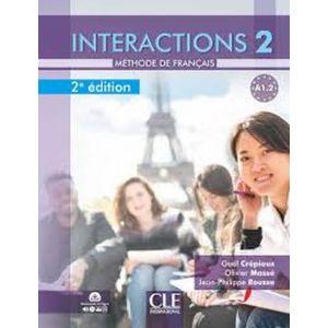 INTERACTIONS 2 - A1.2 - LIVRE + CD (2ª ED.)