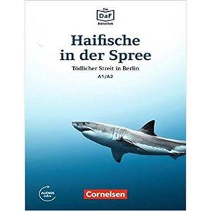 DIE DAF BIBLIOTHEK A1 / A2 HAIFISCHE IN DES SPREE TODLICDHER STREIT IN BERLIN