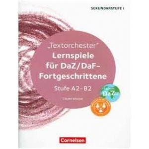LERNSPIELE FUR DAZ/DAF-FORTGESCHRITTENE STUFE A2-B2
