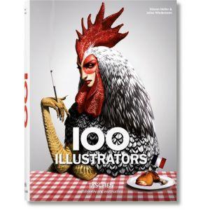 100 ILLUSTRATORS (INGLES)