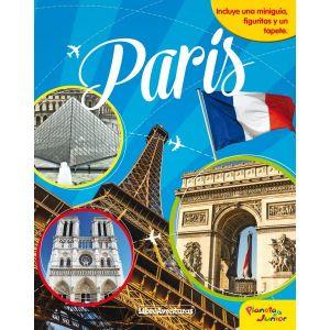 PARIS. LIBROAVENTURAS  INCLUYE UNA MINIGUIA  FIGURITAS Y UN TAPETE