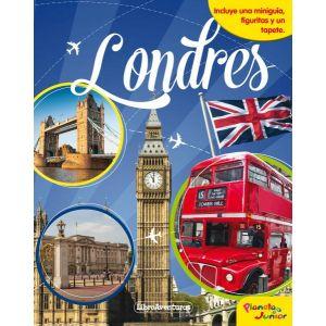 LONDRES. LIBROAVENTURAS  INCLUYE UNA MINIGUIA  FIGURITAS Y UN TAPETE