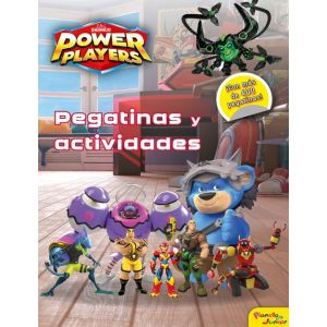 POWER PLAYERS. ACTIVIDADES Y PEGATINAS