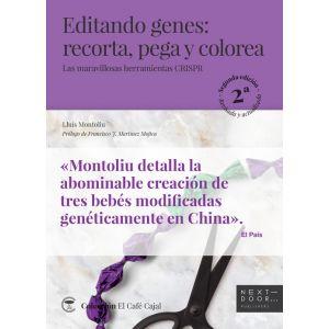 EDITANDO GENES RECORTA PEGA  Y COLOREA