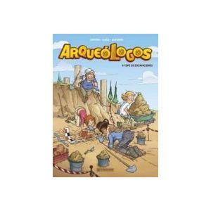 ARQUEOLOGOS 1 A TOPE DE EXCAVACIONES
