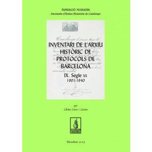 INVENTARI DE L´ARXIU HISTORIC DE PROTOCOLS DE BARCELONA IX