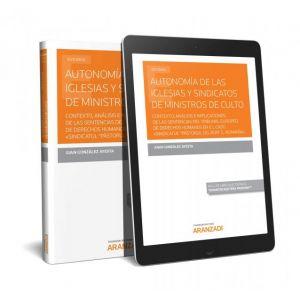 AUTONOMIA DE LAS IGLESIAS Y SINDICATOS DE MINISTROS DE CULTO CONTEXTO  ANALISIS