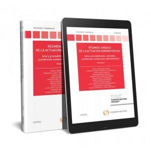 REGIMEN JURIDICO DE LA ACTUACION ADMINISTRATIVA. VOLUMEN I (PAPEL + E-BOOK)