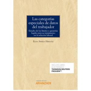 PACK CATEGORIAS ESPECIALES DE DATOS DEL TRABAJADOR