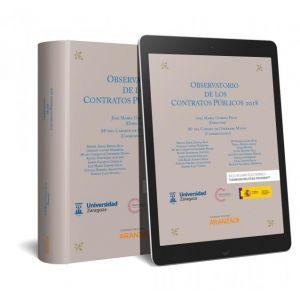 OBSERVATORIO DE LOS CONTRATOS PUBLICOS 2018 (PAPEL + E-BOOK)