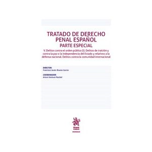 TRATADO DE DERECHO PENAL ESPAÑOL PARTE ESPECIAL