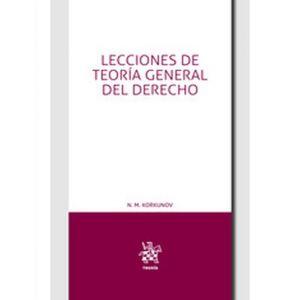 LECCIONES DE TEORIA GENERAL DEL DERECHO  +EBOOK