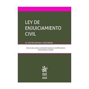 LEY DE ENJUICIAMIENTO CIVIL + EBOOK