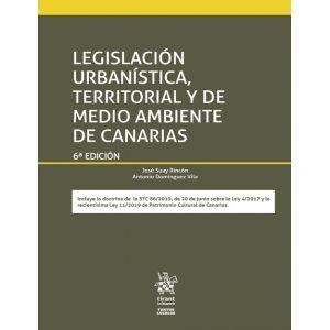 LEGISLACION URBANISTICA  TERRITORIAL Y DE MEDIO AMBIENTE DE CANARIAS