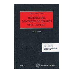 PACK TRATADO DEL CONTRATO DE SEGURO TOMO I VOLUMEN I-II