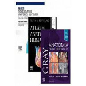 PACK NOMENCLATURA ANATOMICA ILUSTRADA + ANATOMIA GRAY + ANATOMIA  NETTER