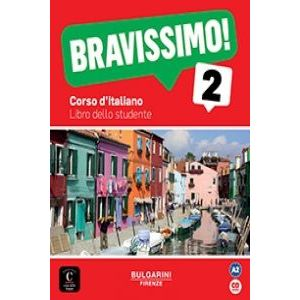 BRAVISSIMO! 2 NIVEL A2 LIBRO DEL ALUMNO + CD