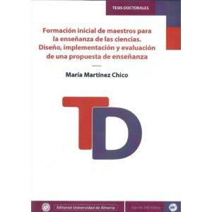 FORMACION INICIAL DE MAESTROS PARA LA ENSEÑANZA DE LAS CIENCIAS. DISEÑO  IMPLEME