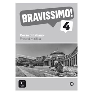 BRAVISSIMO! 4 NIVEL B2 EVALUACIONES. LIBRO + MP3 DESCARGABLE
