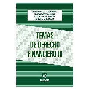 TEMAS DE DERECHO FINANCIERO III