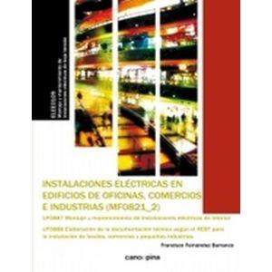 MF0821-2 INSTALACIONES ELECTRICAS EN EDIFICIOS DE OFICINAS COMERCIOS E INDUSTRIA